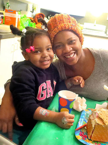 Mother, Daughter smiling – Birthday Wishes