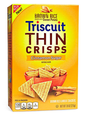 Brown Rice Triscuit Thin Crisps Cinnamon Sugar