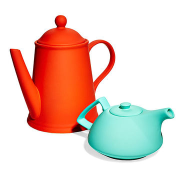 Silicone teapots