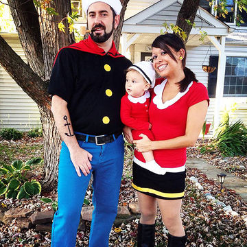 group and family halloween costumes - Baby And Family Halloween Costumes