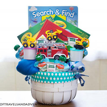 Best easter basket ideas without candy transportation easter basket negle Gallery