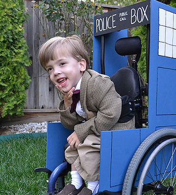 Wheelchair Halloween Costume Ideas