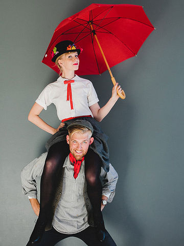 mary poppins and bert costumes - Best Last Minute Halloween Costume