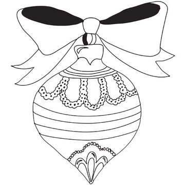 ornament printable coloring pages - photo#6