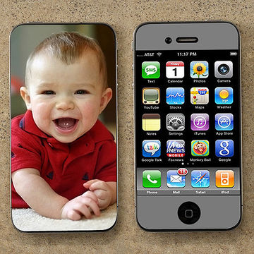 Personalization Mall Photo Skin for Cell Phones