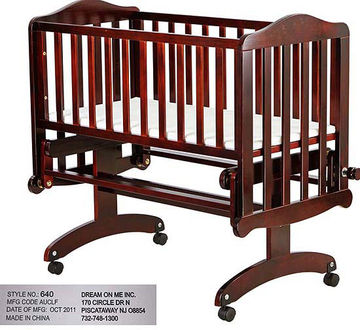 Dream On Me Cradle Glider Recall