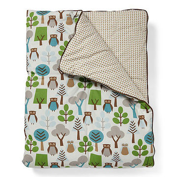 Owl Play Blanket