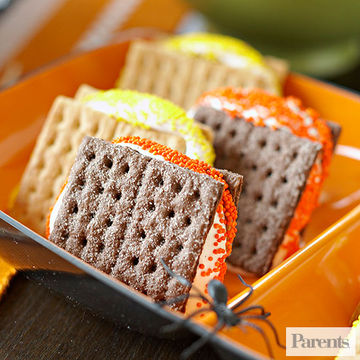 easy s039 - Halloween Kid Foods To Make