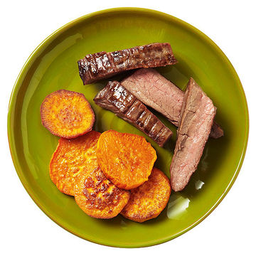 Steak With Easy Oven Fries