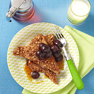 Pecan-crusted French toast