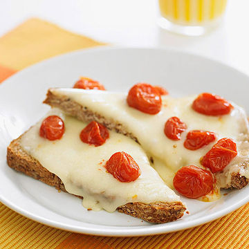 Open-Face Cheese Sandwiches