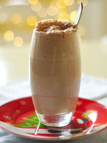 Cinnamon-Chocolate Egg Cream