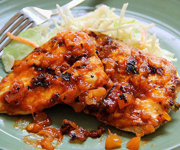 Tropical BBQ Chicken