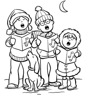 printable holiday coloring pages Winter Coloring Page for 2nd Grade  Christmas Coloring Pages For 2nd Grade