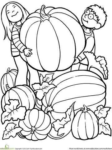 jumping into leaves printable coloring page - Coloring Pages Kids Printable