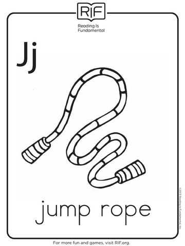 J Is for Jump Rope