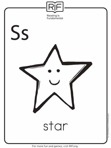 s is for star
