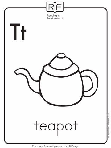 T Is for Teapot