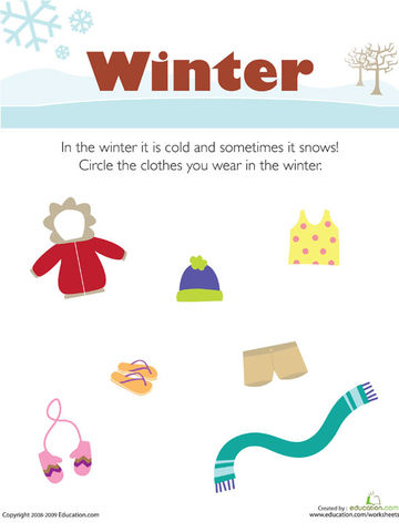 Winter Picture Fractions Sticker in addition F D Fa F Ea A C Ef E Weather Activities For Kids Teaching Weather as well De Aff E C D also Squirrel Tracing Page furthermore Bread Word Tracing. on seasons of the year worksheets