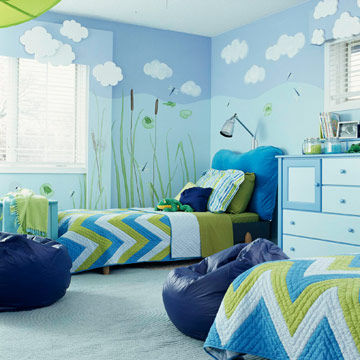 Green Bedroom For Boys cute rooms for boys