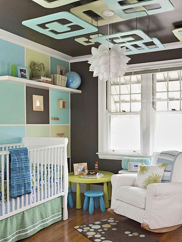 nursery overall. Color in the Nursery  Colorful Kid Rooms