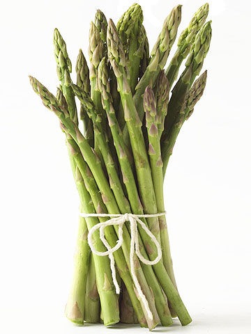 Stalks of asparagus