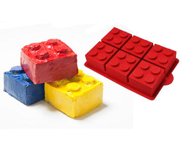 lego cakes and pan