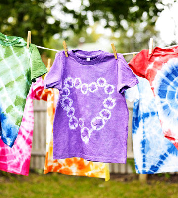 Get your groovy on how to tie dye with kids for How do you dye a shirt