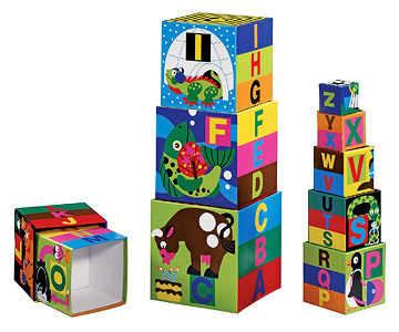 Deluxe Nesting and Stacking Blocks
