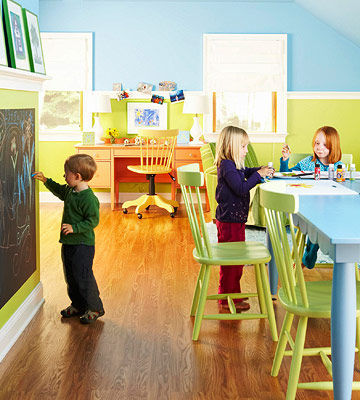 playroom with kids. Creative Ideas for Shared Spaces