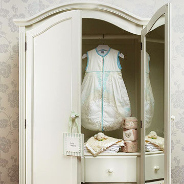 baby's room armoire