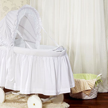 Picci Crystal bassinet and Simply Shabby Chic for Target basket