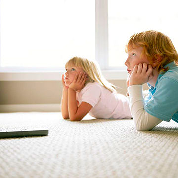 kids watching tv