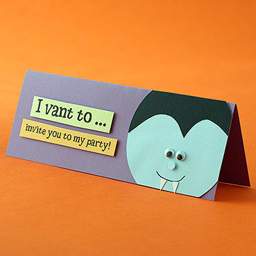 Halloween Party Invitations Cards