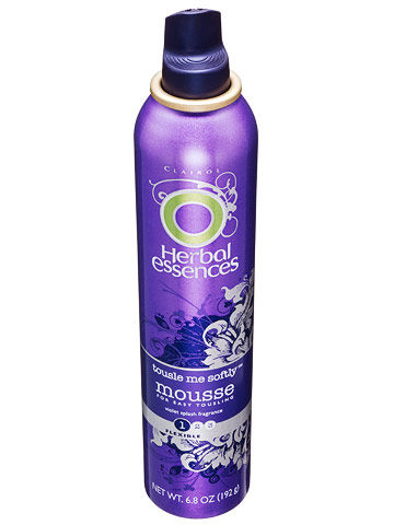 Herbal Essences Tousle Me Softly Mousse