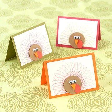Turkey Thank-You Cards