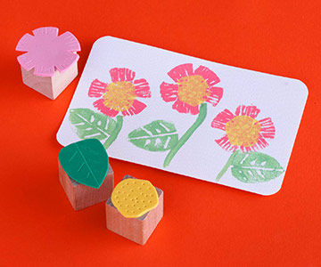Easy Foam Stamps