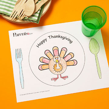 Thanksgiving Placemats