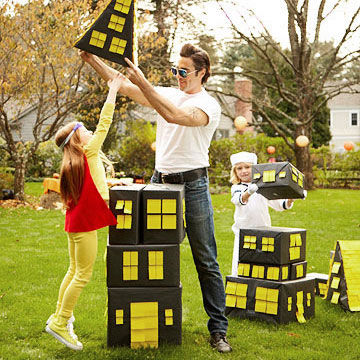 halloween game build a haunted house - Halloween Party Games Toddlers
