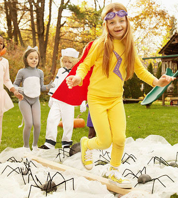 halloween game balancing act - Halloween Party Games Toddlers