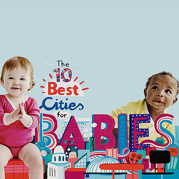 Best Cities for Babies