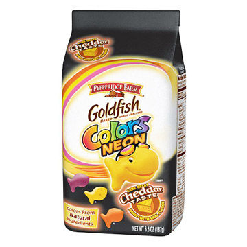 Goldfish Colors Neon packaging