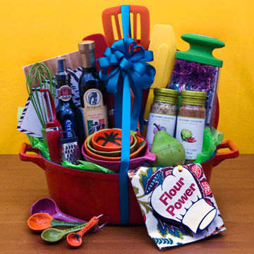 Gift basket for Mom the chef