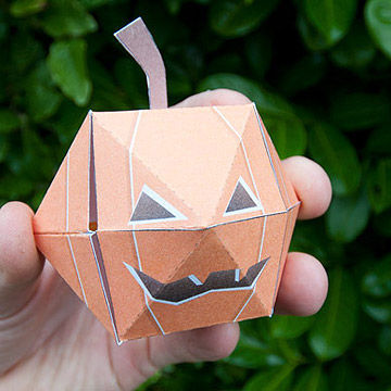 printable pumpkin craft - Print Out Halloween Decorations