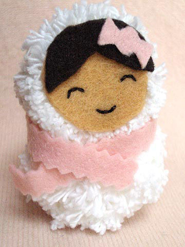 Snow Baby ornament
