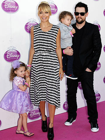 Nicole Richie, Joel Madden, Harlow and Sparrow Madden