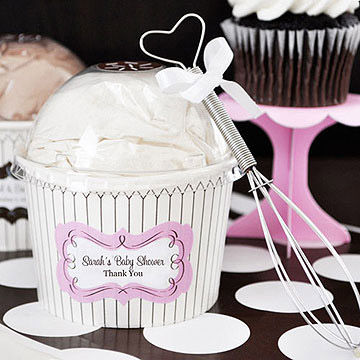 Personalized Baby Shower Cupcake Mix