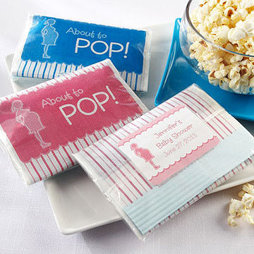 Baby Shower Popcorn Favors
