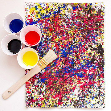 Number 8 by Jackson Pollock