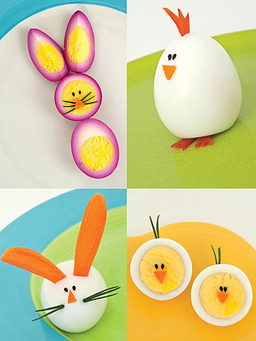 Hard-boiled Bunnies and Chicks